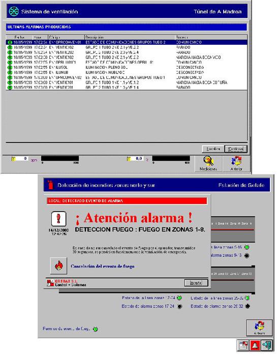 PLUTO NT-Alarmas