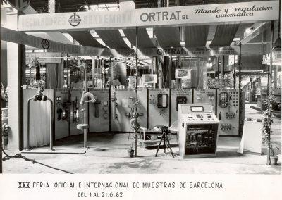 1962 - 30 Feria oficial e internacional de muestras en Barcelona