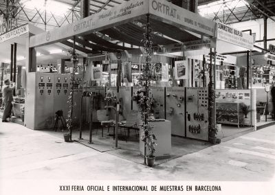 1963 - 31 Feria oficial e internacional de muestras en Barcelona